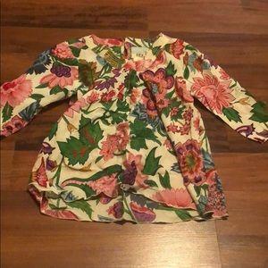 Size 10 (XL) floral top